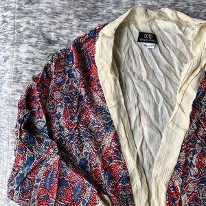Sweaters - Paisley Bohemian Kimono